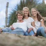 in de duinen bij egmond familie fotograaf