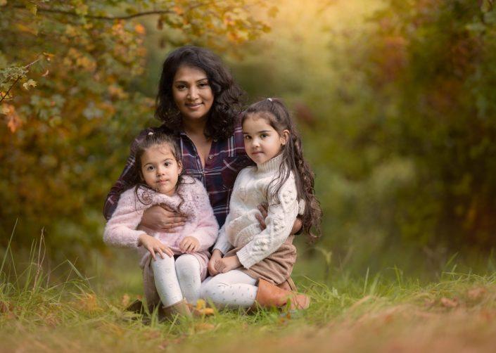 familie fotograaf fotoshoot Lelystad herfst