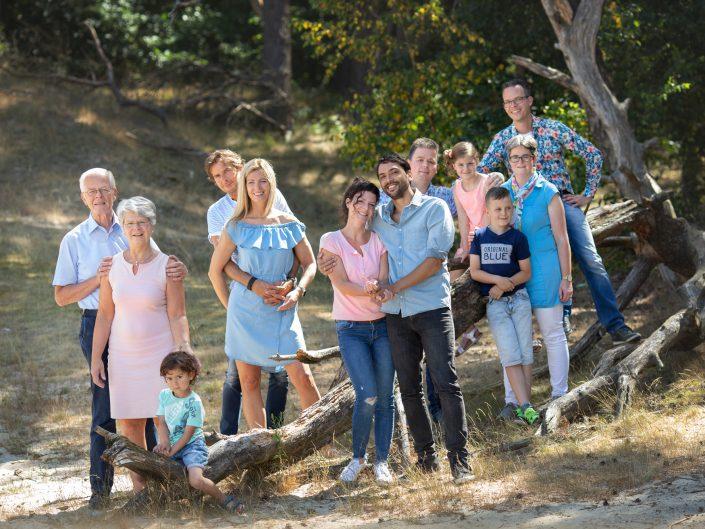 Familie Fotoshoot bij Hulshorsterzand