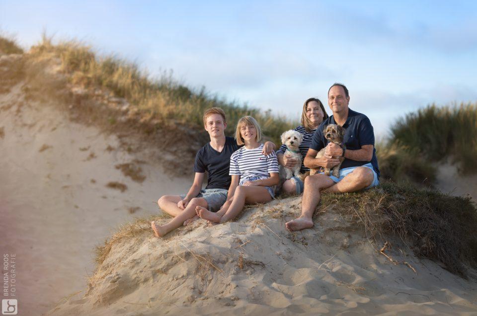 Fotoshoot bij Egmond aan Zee