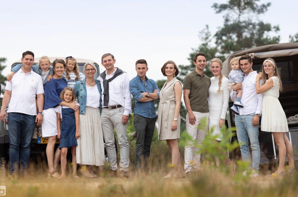 Familie fotoshoots op de Veluwe