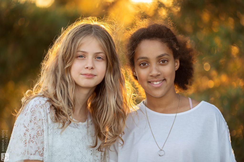 Fotoshoot op de heide met vriendinnen | Fotograaf Veluwe en Flevoland