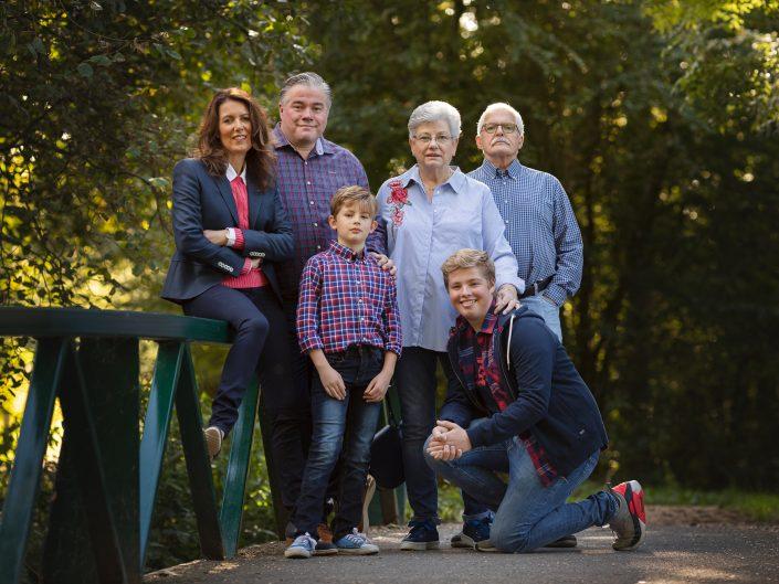 Familie fotoshoot Bos in Lelystad