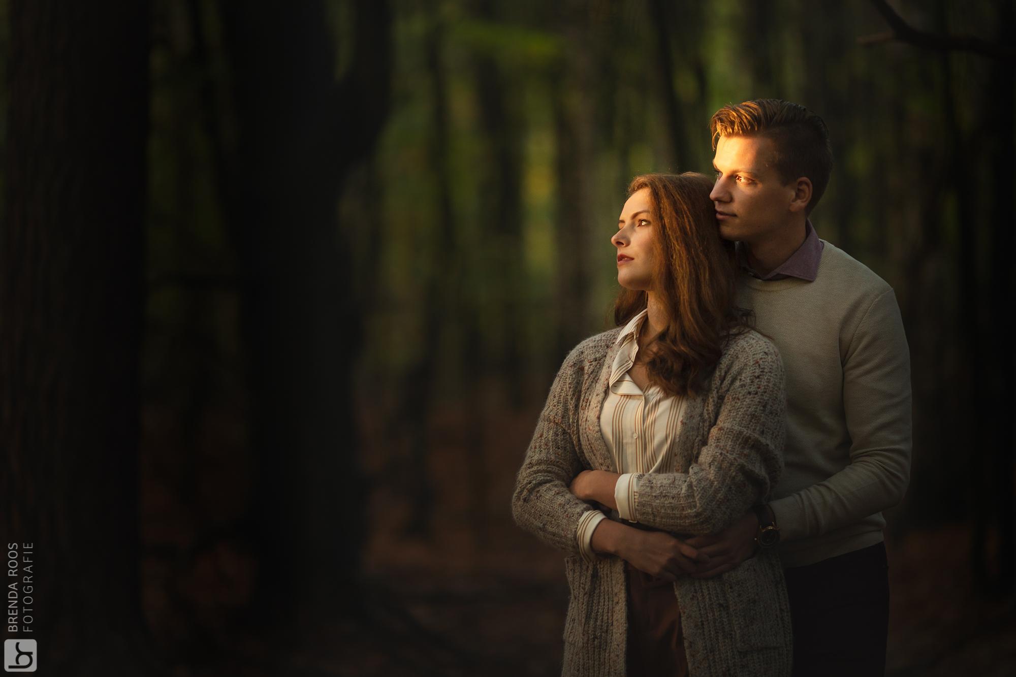Familie fotograaf loveshoot ermelo veluwe leuvenumse bos