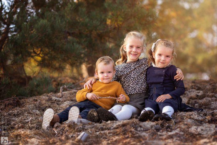 familieportret veluwe zandverstuiving gezin familiefotograaf