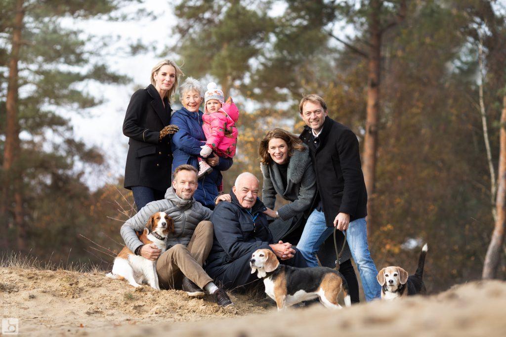 familie fotoshoot fotografie Veluwe