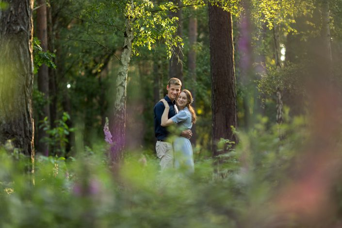 Fotograaf Almere Loveshoot gouden uur fotograaf Lelystad & Veluwe trouw fotoshoot