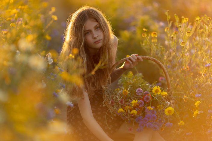 Portret fotograaf Lelystad & Almere goudenuur Veluwe