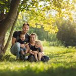 Fotoshoot gezin Lelystad belevenissenbos