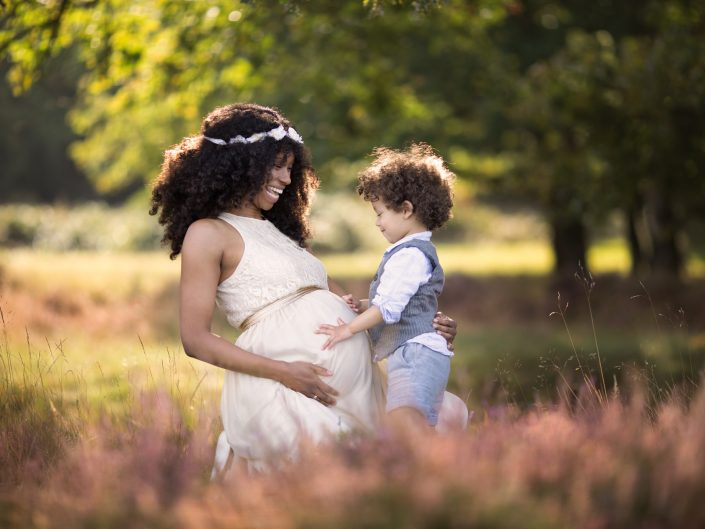Zwangerschaps fotoshoot Blaricum