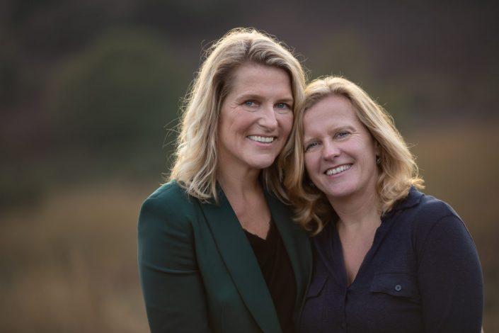 vriendinnen fotoshoot Veluwe Posbank fotograaf paarse heide