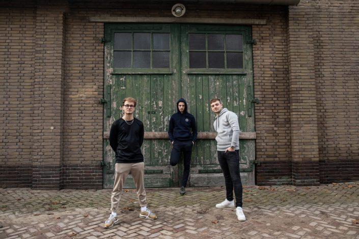 Triple-R fotoshoot Zwitsal terrein Nettenfabriek Apeldoorn