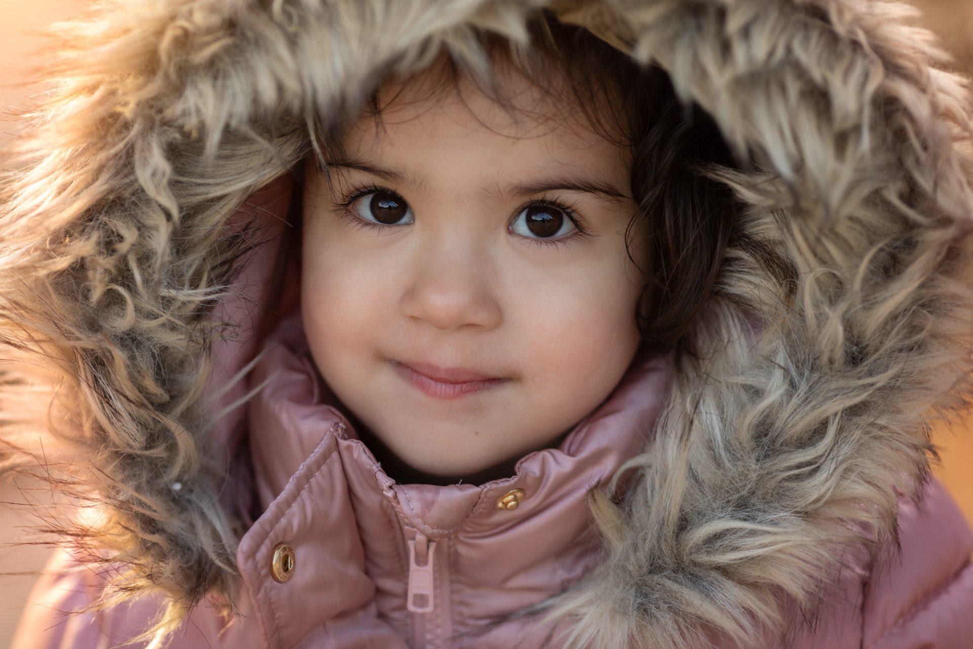 fotograaf kinderen kinderfotograaf fotoshoot winter Veluwe Lelystad