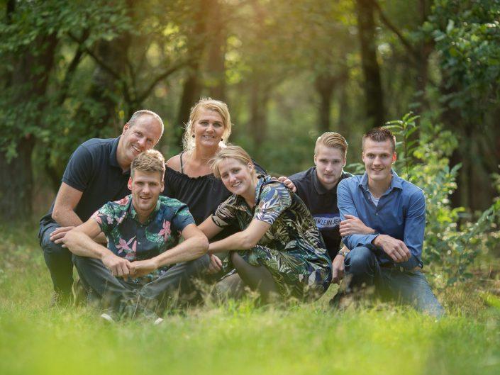 Veluwe Familie fotoshoot