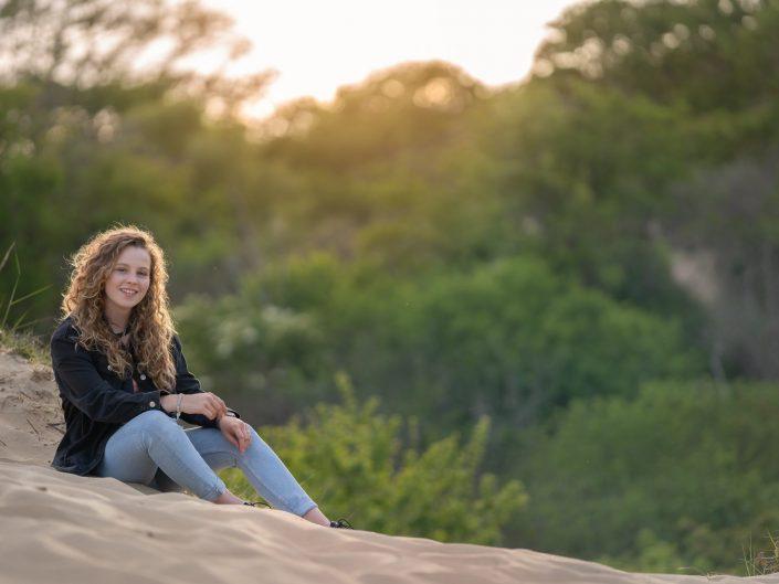 sweet sixteen fotoshoot Nationaal Park Zuid-Kennemerland