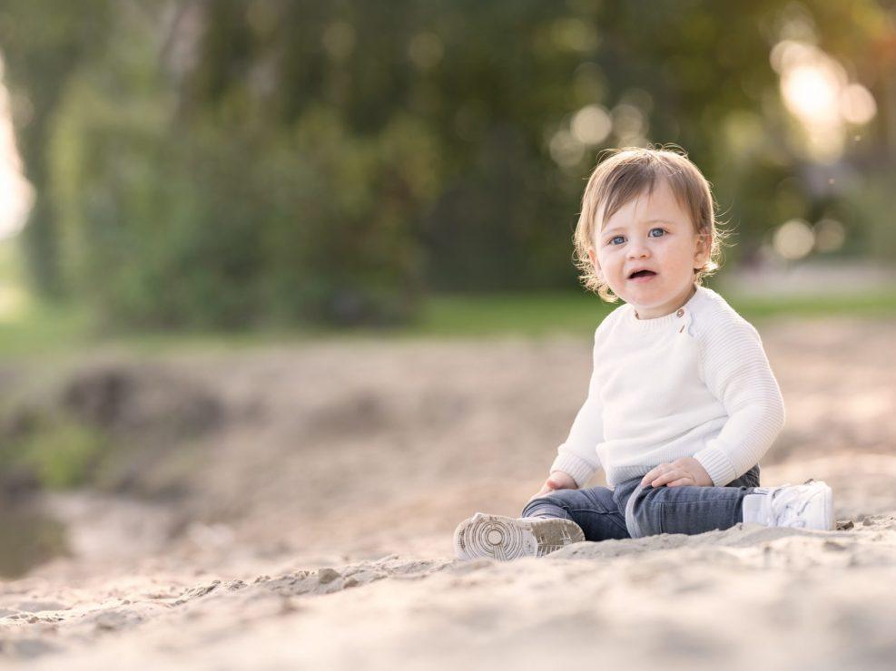 Kinderfotograaf buiten Bremerbaai