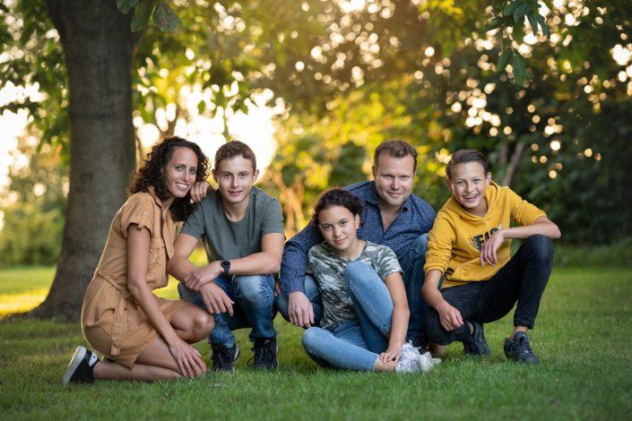 fotograaf Dronten Veluwe Lelystad boerderij familie fotoshoot buiten