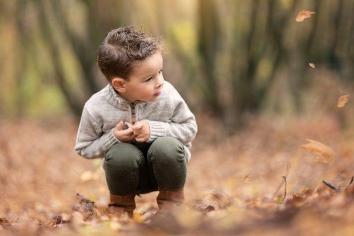 herfst fotoshoot fotograaf gezin Veluwe portret