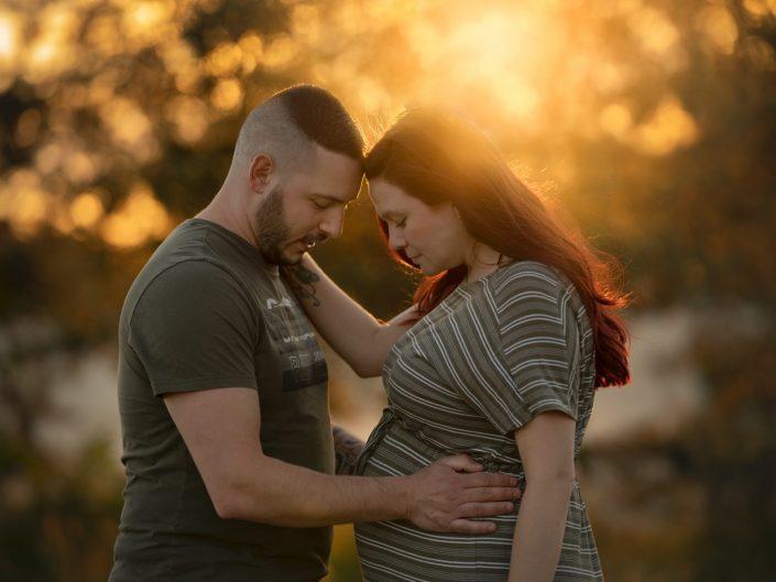 Zwangerschaps-Fotoshoot op de Haere