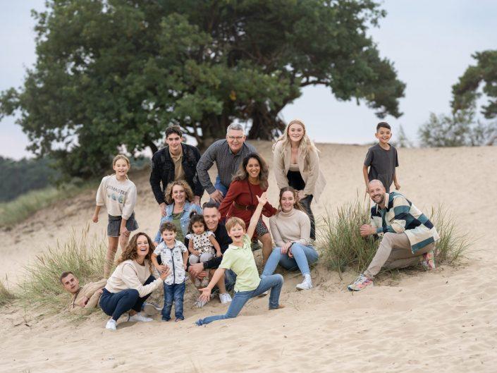 Zandverstuiving Fotoshoot